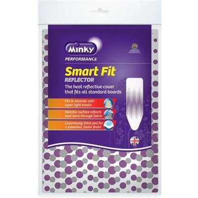 Minky Smart Fit Reflector Ironing Board Cover