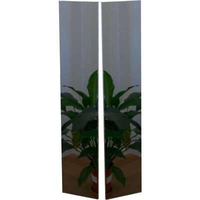 Modular Bedroom Double Wardrobe Doors - Mirror
