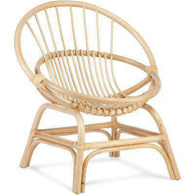 Moon Cane Chair in Natural