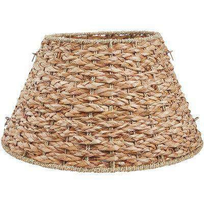 Natural Grass Round Christmas Tree Skirt