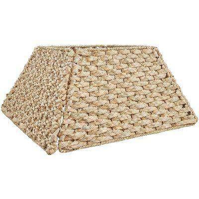 Natural Trapezoid Folding Christmas Tree Skirt