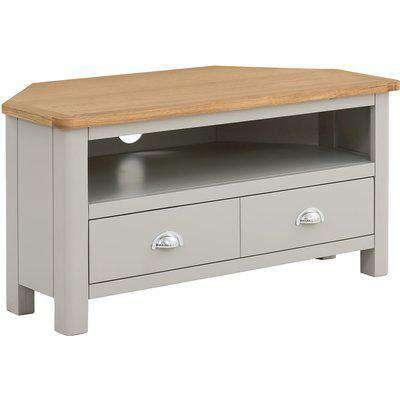 Norbury Corner TV Stand - Grey