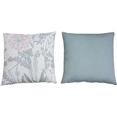 Homebase Outdoor Scatter Cushion in Floral Grey