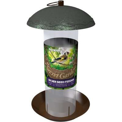 Peckish Secret Garden Nyjer Seed Wild Bird Feeder