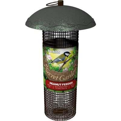 Peckish Secret Garden Peanut Wild Bird Feeder
