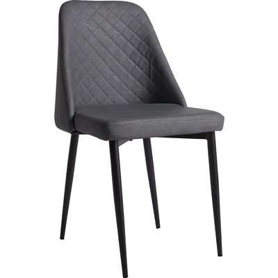 Phoenix Faux Leather Dining Chairs - Set of 2