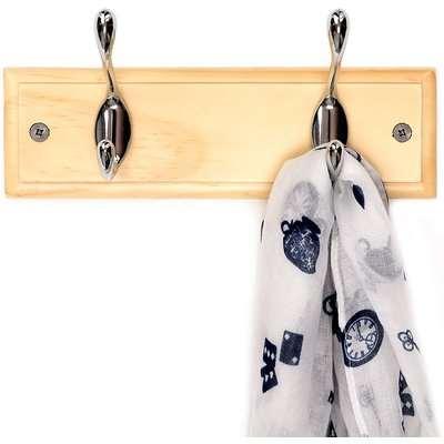 Pine Coat Hooks - 2 Hooks