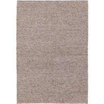 Plaited Wool Rug - Natrual - 160x230cm