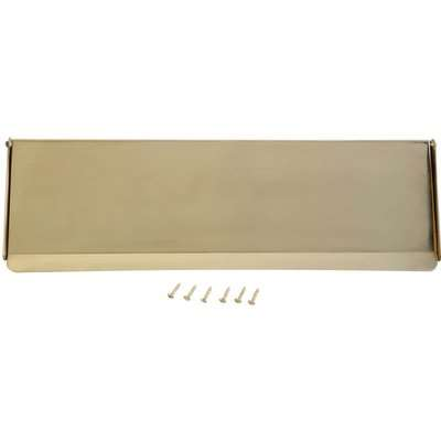 Polished Brass Letter Tidy - 282 x 82mm