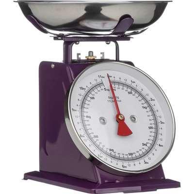 Purple Standing Kitchen Scale - 5kg