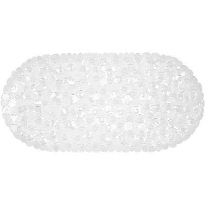 PVC Pebble Bath Mat - Clear