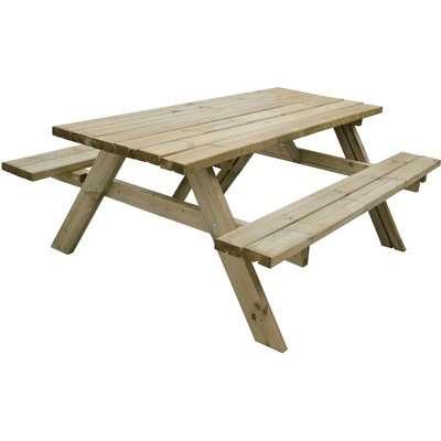 Rectangular Picnic Table - Large