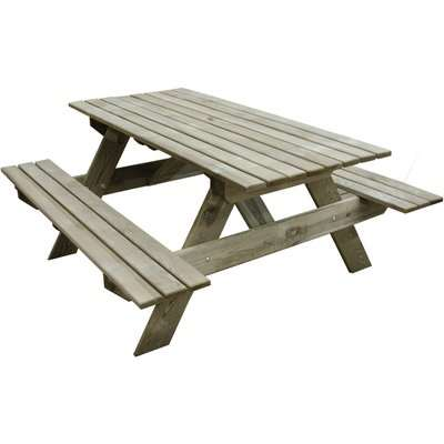 Rectangular Picnic Table - Small