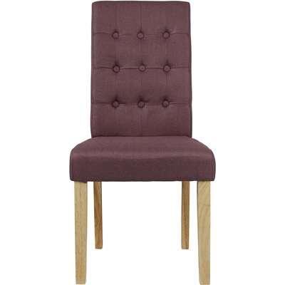 Roma Dining Chair - Plum