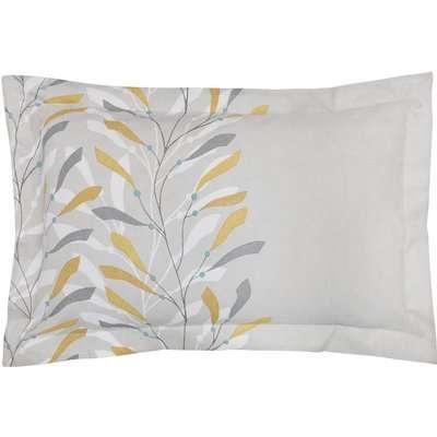 Sanderson Home Sea Kelp Oxford Pillowcase - Ochre