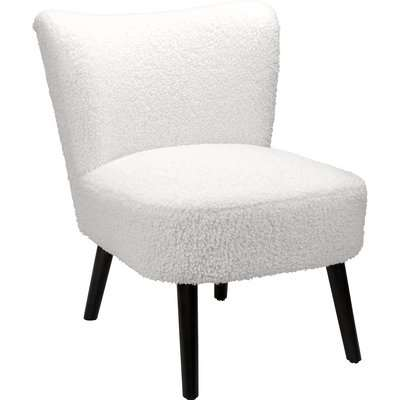 Sean Boucle Occasional Chair - Cream