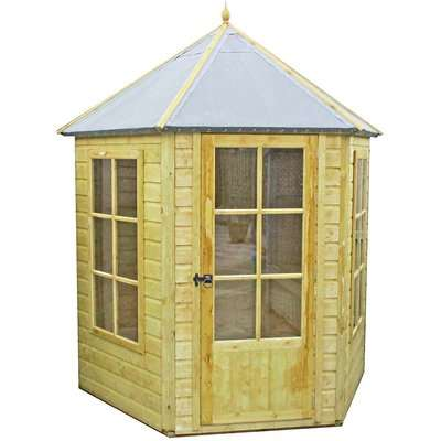 Shire Gazebo Summerhouse (incl. installation) - 7x6ft
