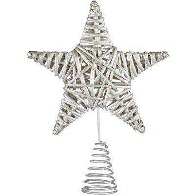 Silver Willow Christmas Tree Topper