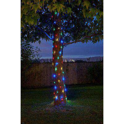 Solar Company 200 Multi Coloured Copper Wire String Light
