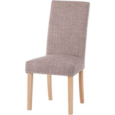 Studded Tweed Dining Chair - Set of 2