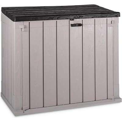 Toomax Stora Way 842L Garden Storage Box in Taupe Grey