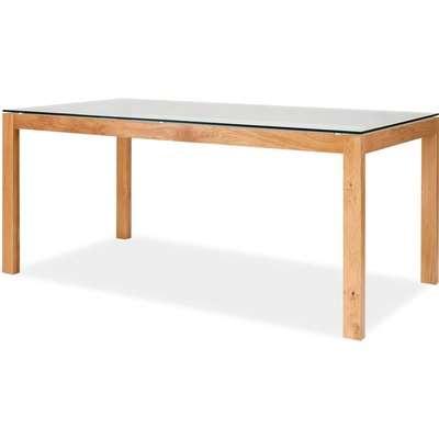 Tribeca Dining Table - White & Oak