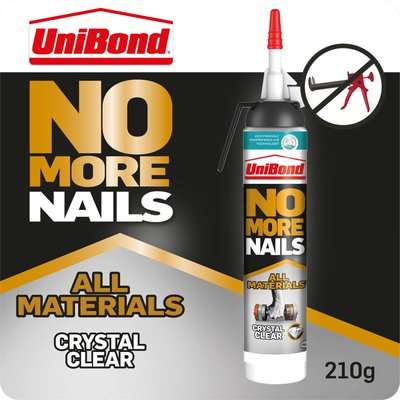 UniBond No More Nails All Materials Heavy Objects - 440g Cartridge
