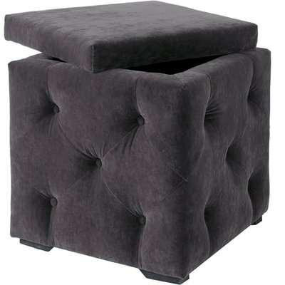 Valentina Storage Box - Charcoal