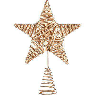 Gold Willow Christmas Tree Topper