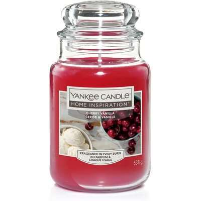 Yankee Candle Home Inspiration Scented Candle - Large Jar - Cherry Vanilla