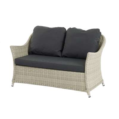 Bramblecrest Monterey 2 Seater Sofa With Season-Proof Charcoal Cushions