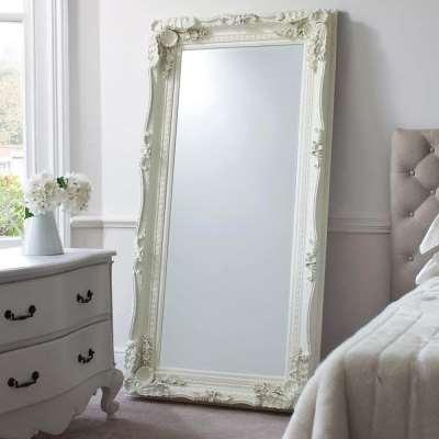 Chateau Leaner Mirror (Cream)