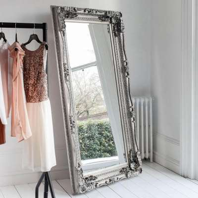 Chateau Leaner Mirror (Silver)