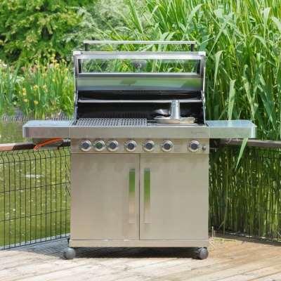 Grillstream Stainless Steel Gas BBQ - 6 Burner