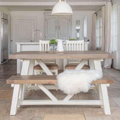 Modern Farmhouse Extending Dining Table (1.6m)
