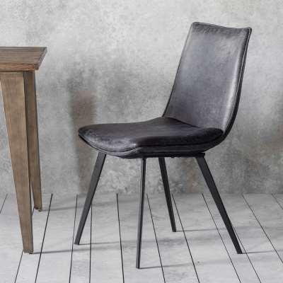 Montana Dining Chair Grey (2pk)