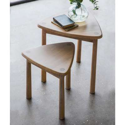 The Bergen Nest of 2 Side Tables