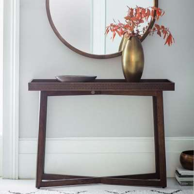 The Chic Brown Console Table