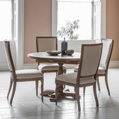 The Colonial Extending Round Dining Table (1.2m)