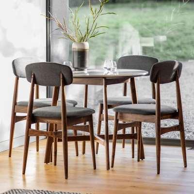 The Retro Round Dining Table (0.9m)