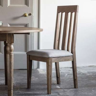 The Rural Dining Chair - Smokey Oak (2pk)