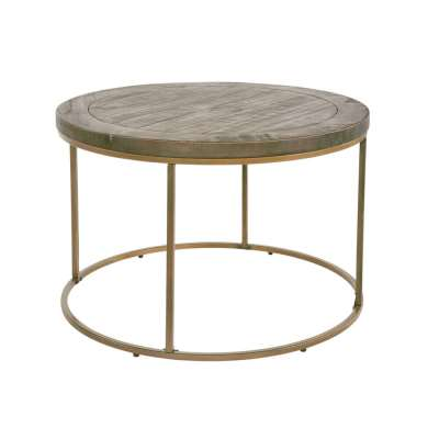 Wiltshire Round Coffee Table - Nutmeg