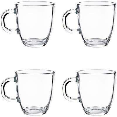 BODUM Bistro Set of 4 Coffee Mugs