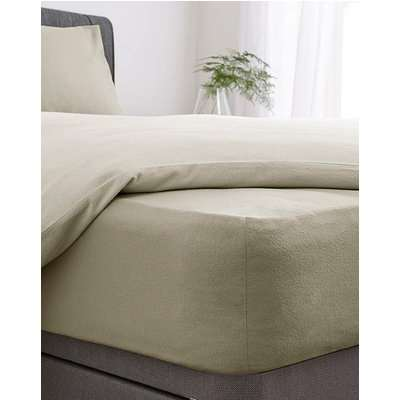 Brushed Cotton Extra Deep Fitted Sheet