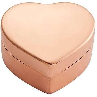 Copper Heart Trinket Box