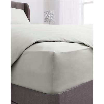 100% Cotton 38cm Extra Deep Fitted Sheet