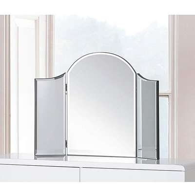 Curved Dressing Table Mirror