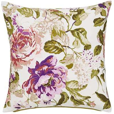Garden Party Embroidered Cushion