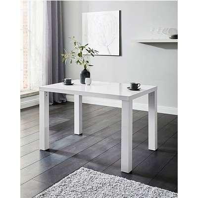 Halo High Gloss Rectangular Dining Table