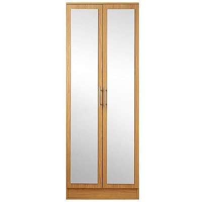 Helsinki Two Door Wardrobe with Mirror